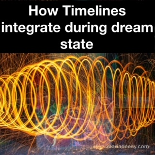 How timelines integrate during dream state